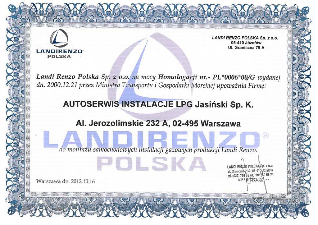 LANDIRENZO POLSKA
